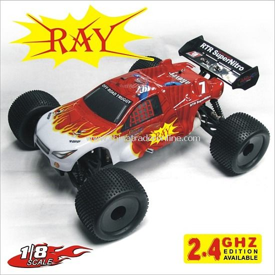 1:8th nitro off road truggy - RAY,2.4G edition available