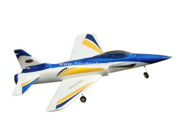 2.4Ghz 4Ch 70mm EDF Meteor Brushless-Powered RC Remote Control Jet RTF