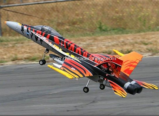 6CH RC FA 18 Electric Ducted Fan Fighter Jet RTF
