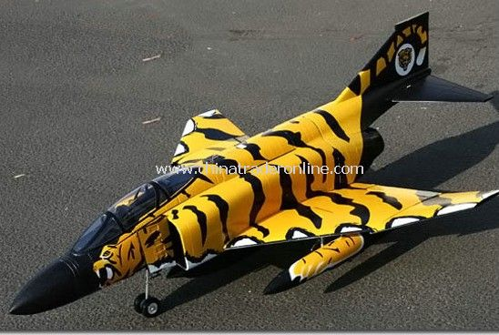 6CH RC Tiger F-4 Radio Remote Control Electric Ducted Fan Jet RTF