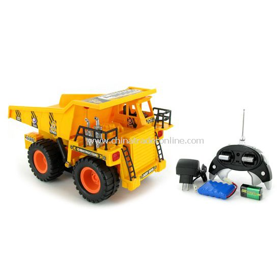 Dump Truck Electric RTR RC Construction Vehicle