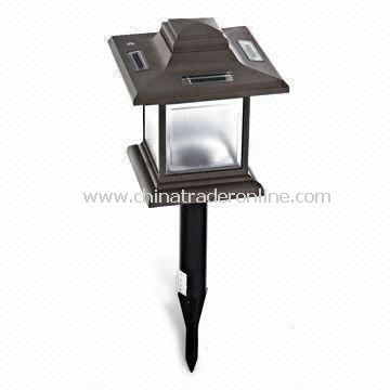 Eco-friendly Lawn Light with Polycrystalline Solar Panel