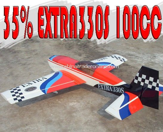 GASOLINE Airplane Model - 35% EXTRA330S 100CC from China