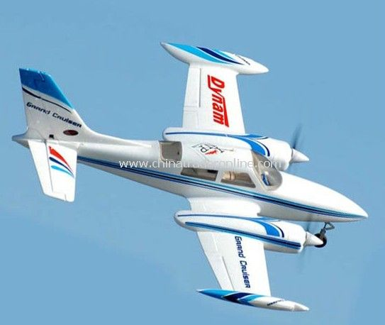 Grand Cruiser Twin Engine Brushless Motor ESC ARF Receiver-Ready Airplane