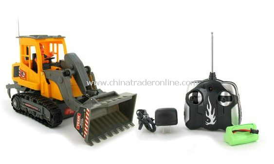 Heavy Machine Front End Loader Electric RTR RC Tracked Tractor Truck
