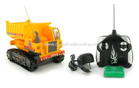 Heavy Machine Tracked Mini Dump Truck Electric RTR RC Construction Vehicle