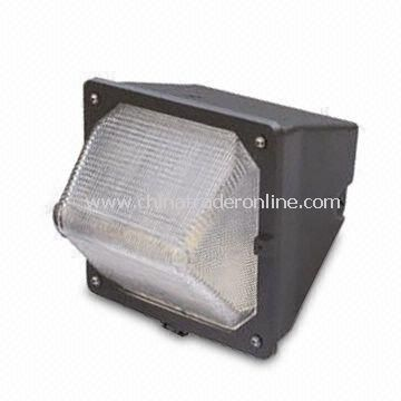 Industrial HID Light Fixture with Aluminum Die-cast Body and Hard Borax Glass Cover