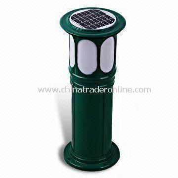 Lawn Light with Polycrystalline Solar Panel