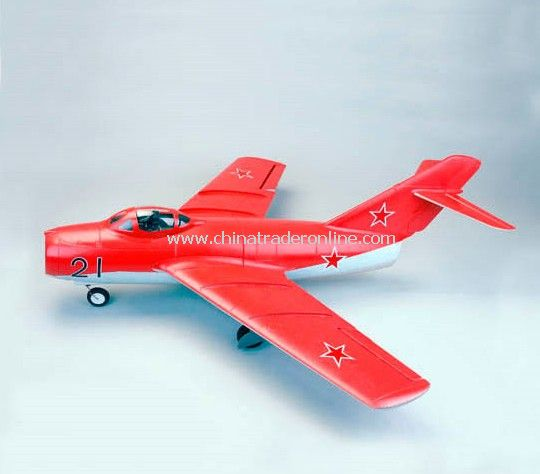 RC Ducted Fan Airplanes Mig-15