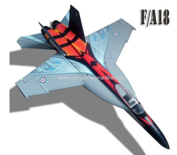 RC F/A -18, with 64mm FAN - Canadian maple