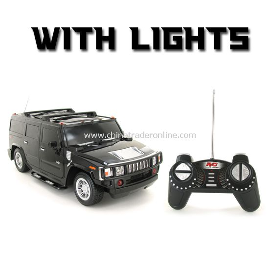 RC Hummers with lights