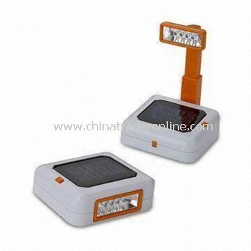 Solar Table Lamp, Flexible and Easy to Carry, Customized Sizes are Welcome