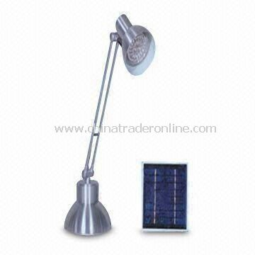 Solar Table Lamp, Flexible and Easy to Carry, Customized Sizes Welcomed
