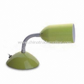 Solar Table Lamp, Made of Plastic + Solar Battery Panel Material, Customized Sizes Available