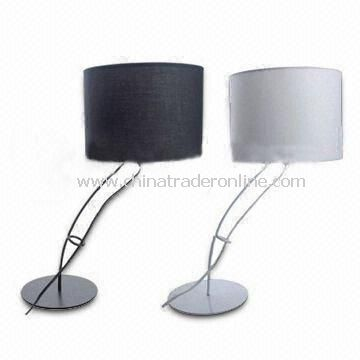 Solar Table Lamps, Customized Requests Welcomed, Made of Plastic + Solar Battery Panel