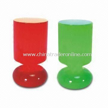 Solar Table Lamps, Customized sizes are Welcome, Made of Plastic