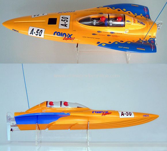 Yellow Bat, nitro Powered boat - RTR