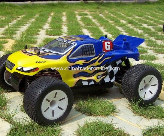 1:10 Scale Electric power off-road Truggy - tribeshead