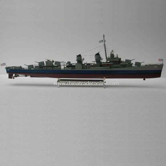 1:125 Remote control model ship - USS Black, DD 666 (Fletcher class)