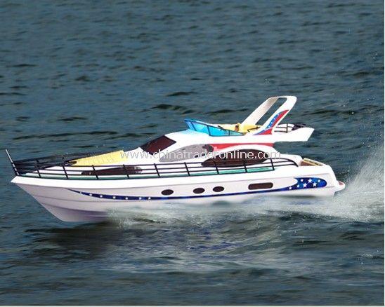 1:25 Brushless motor powered rc Yacht - Salangane