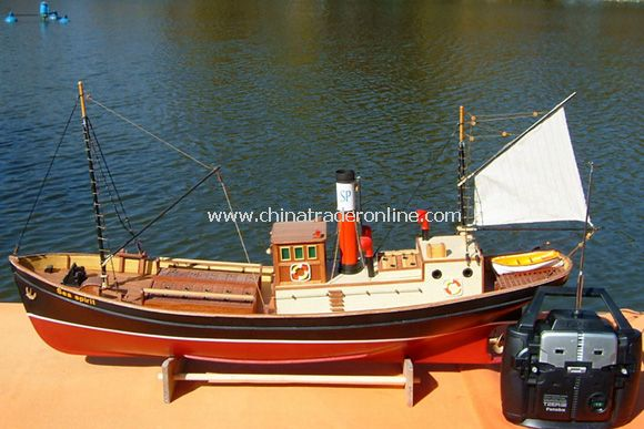 1:50 Sea Spirit Steam boat