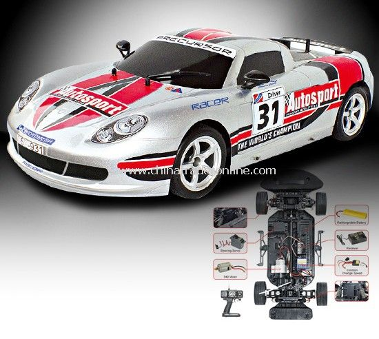 1:8 scale 4WD sports battery operated digital proportional RC racar