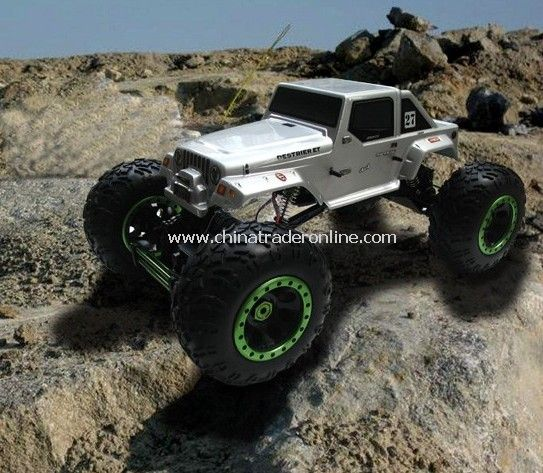 1:8th Sacle Electric Powered Off Road Climbing Jeep
