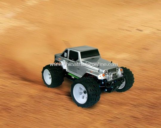 1:8th Scale Brushless Version Electric Powered Off Road Jeep
