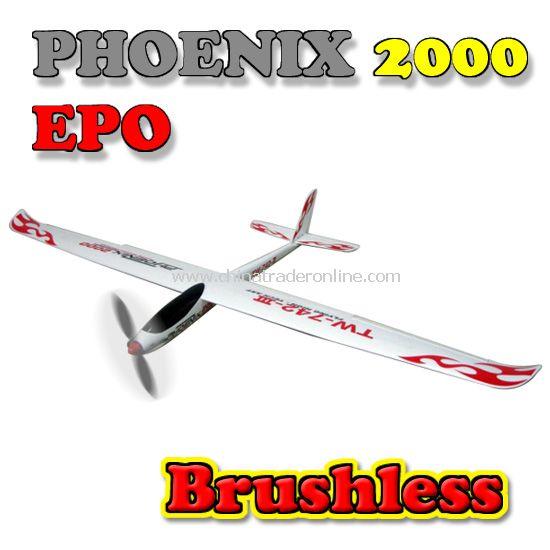 2.4G 6-CH brushless Model plane PHOENIX 2000 EPO