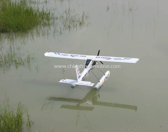 4 channel rc plane can land on water