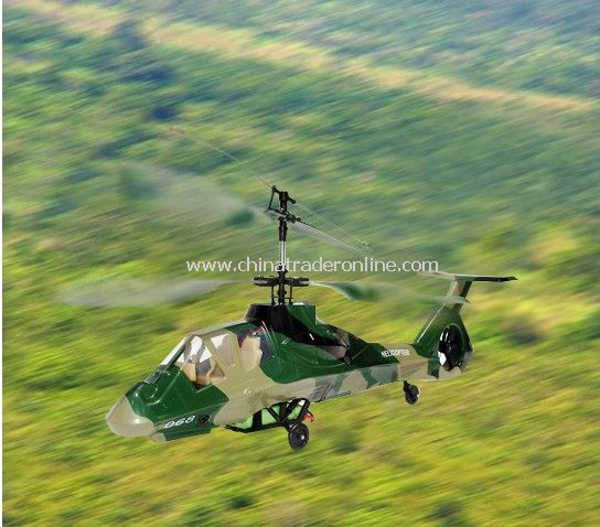 4ch double blade indoor helicopter