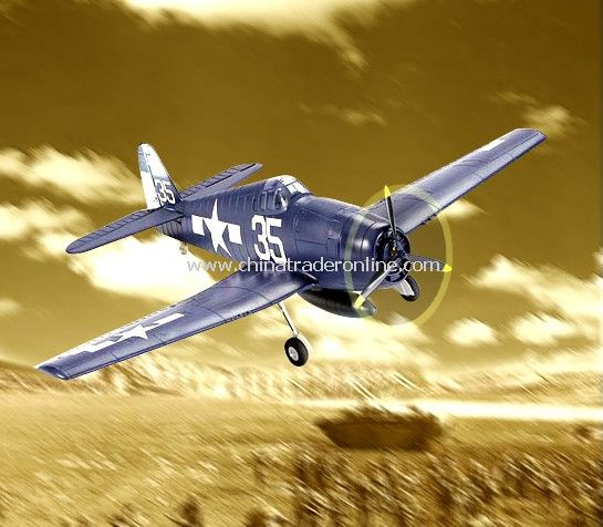 4CH Electric RC Airplane - F6F Hellcat from China