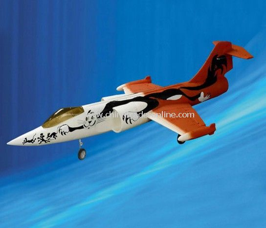 4ch rc plane -F-104 (RTF) from China