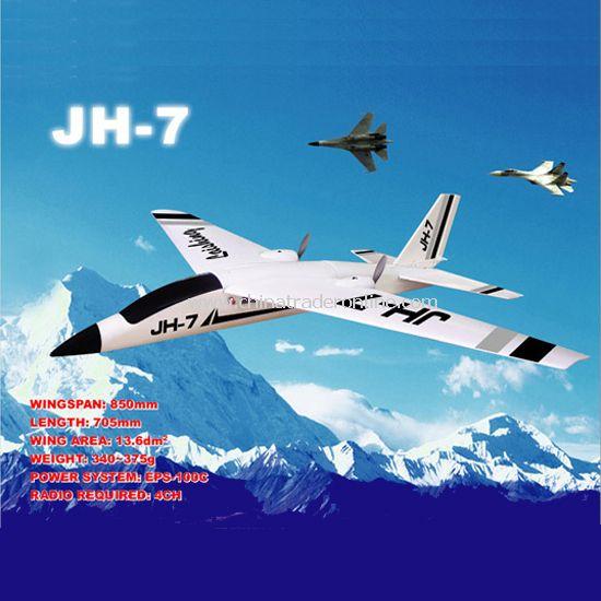Electric RC plane model JH-7