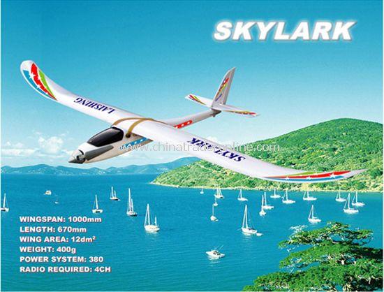 Electric RC plane model Skylark