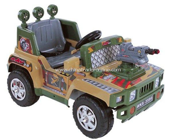 Radio controlled RC Ride on car