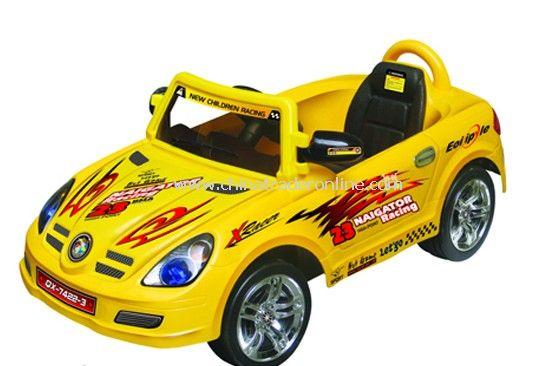 RC four-wheel childrens electric car