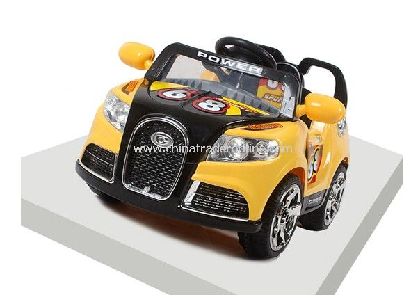 RC Ride on car with safety belt and Manual gear stick from China