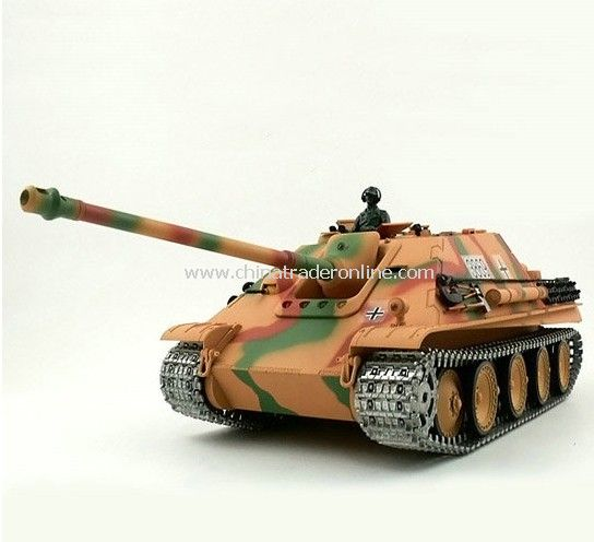 1:16 German JAGDPanther Tank Destroyer Airsoft RC Battle Tank Special Metal Tracks