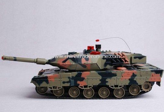 1:16 infrared rc battle tank