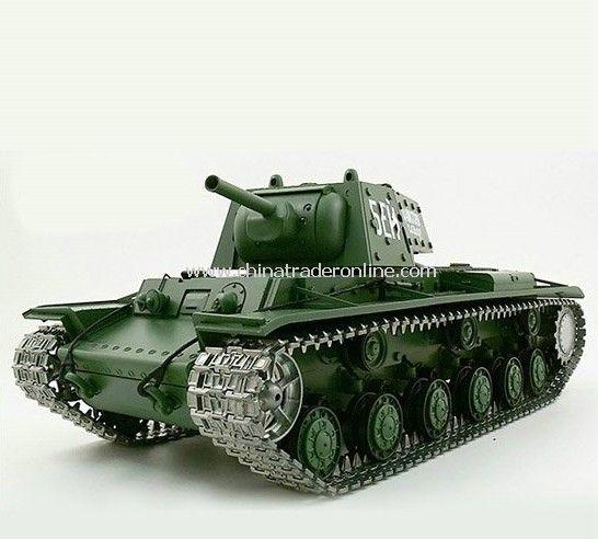 1:16 Russian KV-1s Ehkranami Airsoft RC Battle Tank Special Metal Tracks Edition Sound & Smoking