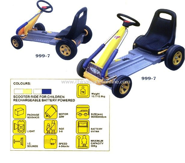 battery operated ride on car - for cart race