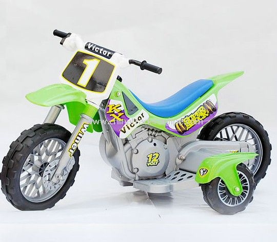 Dirt Bike Battery Operated for kids 12 Volt by Micro Motor X AGES: 3-6