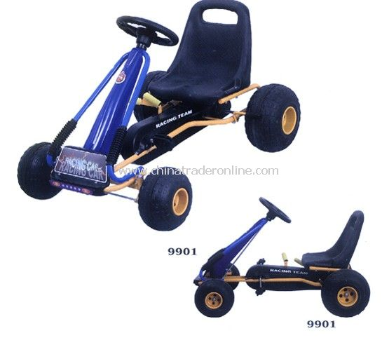 Kart racing pedal car for child