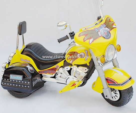 Low-Rider Battery Operated Ride-On Motorbike for Kids Ages 3-7