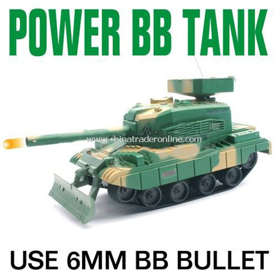 RC mini shooting BB bullet tanks