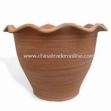 11-inch Garden Planter, Natural and Eco-friendly, Various Colors are Available