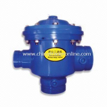2-position 3-way Ball Valve for Filters, Made of ABS, High Pressure