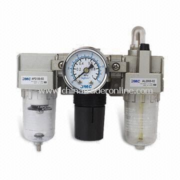Air Regulator and Filter, Air Source Treatment, Pressure Drain Type
