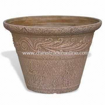 Biodegradable Garden/Indoor Planter, Measures 12 x 6.5 x 8.4 Inches, Various Colors are Available